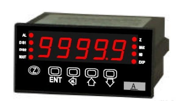 5位數微處理型可程式顯示控制表