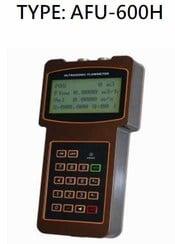 手持式超音波流量計