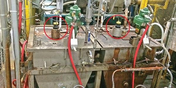 DL14 可靠的批量混合罐液位傳感器