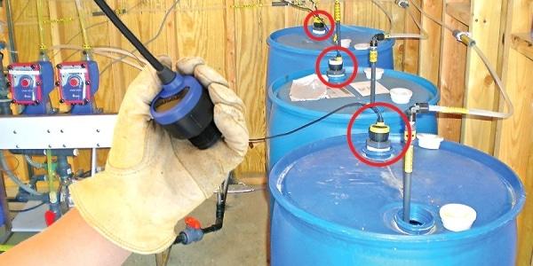DL14 市政化學進料罐液位傳感器