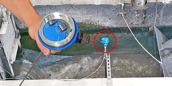 LG10 廢水明渠液體流量傳感器