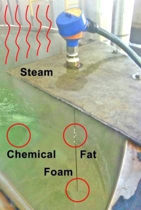 LG10 蒸汽和泡沫廢水液位傳感器