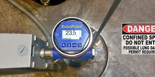LR15 乳製品發泡廢液池液位傳感器