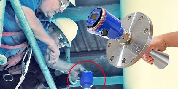 LR15 純鹼漿料混合罐液位傳感器