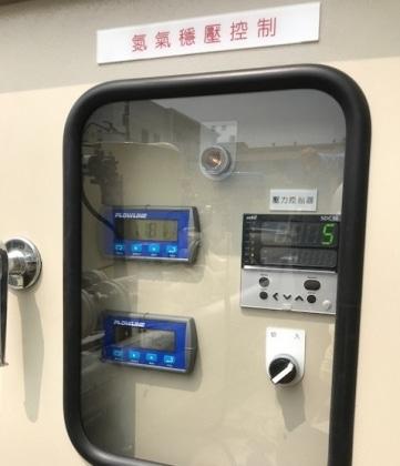 LR15 150 Ton食用儲油槽庫存量連續監測系統
