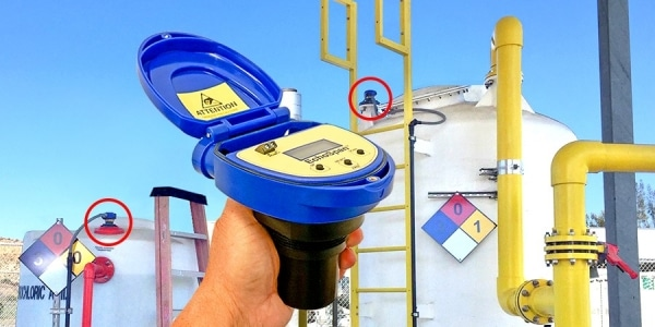 LU84 市政中和罐液位傳感器