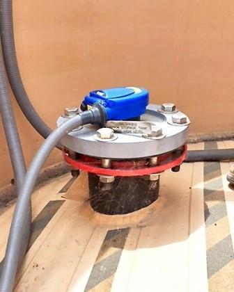 LU84 廢水儲槽液位傳感器