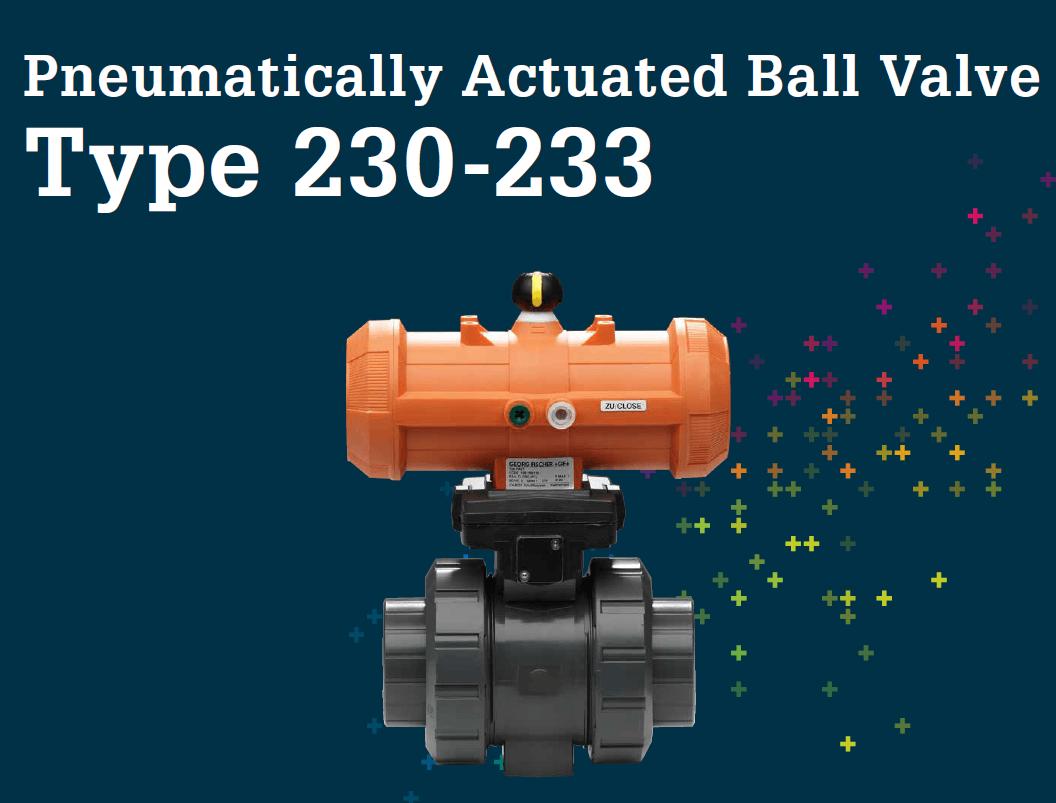 氣動球閥230-233