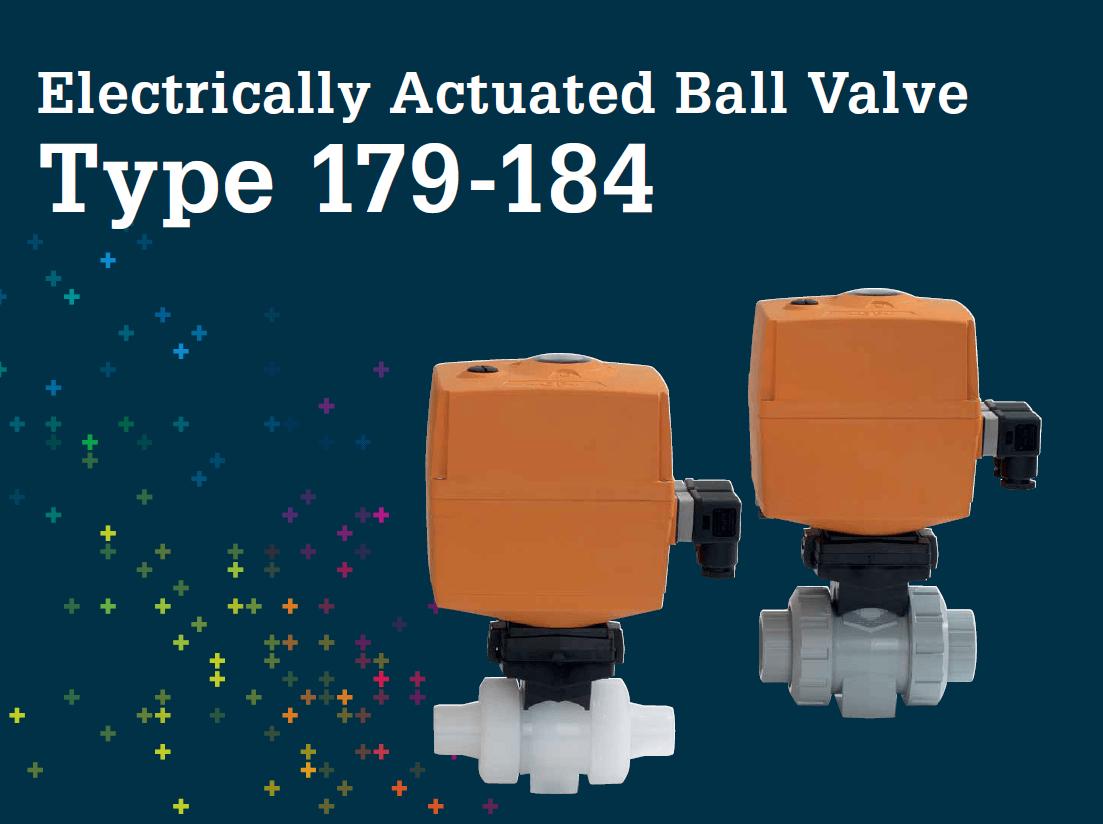 電動球閥 Type 179-184