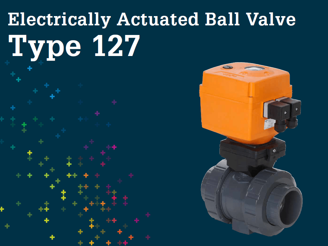 電動球閥 Type 127