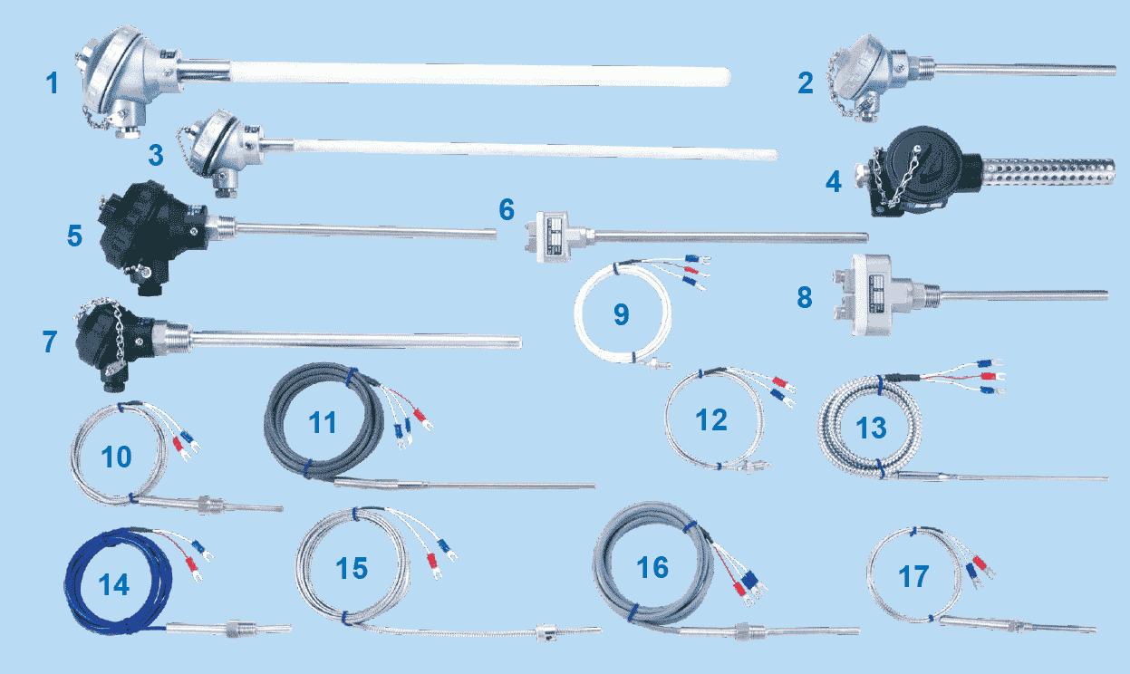 溫度感測器/保護套管/補償導線